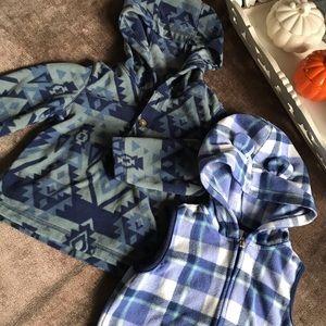 Carter's Fleece Hooded Sweater & Vest